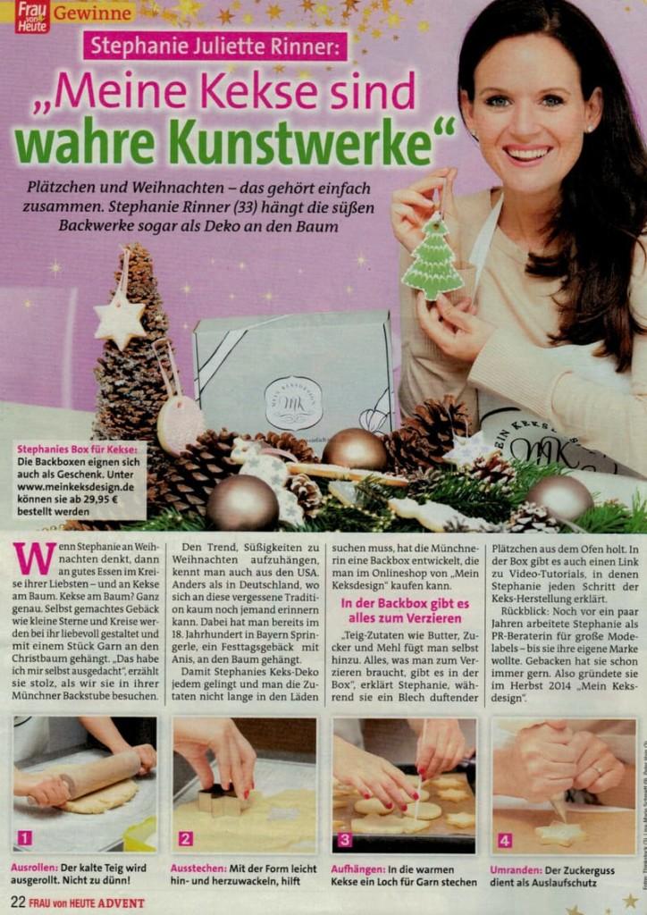 Backbox Weihnachtszauber von Mein Keksdesign in der FRAU VON HEUTE