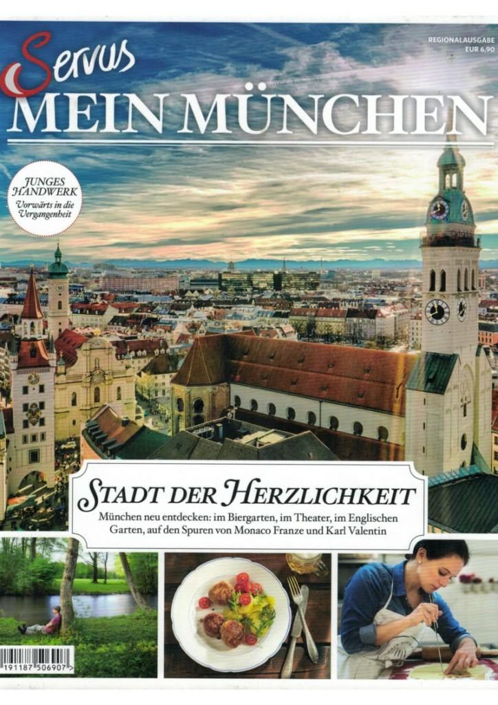 Mein Keksdesign im SERVUS Magazin, Servus Mein München