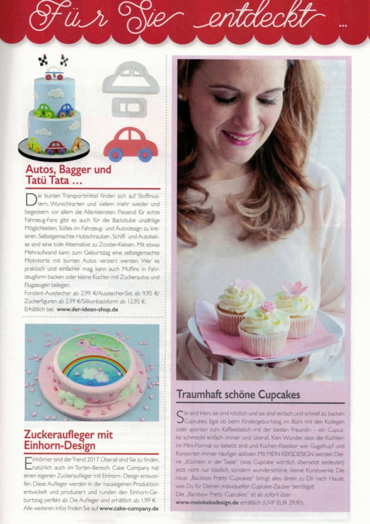 Backbox Pretty Cupcakes von Mein Keksdesign in der Cake & Bake