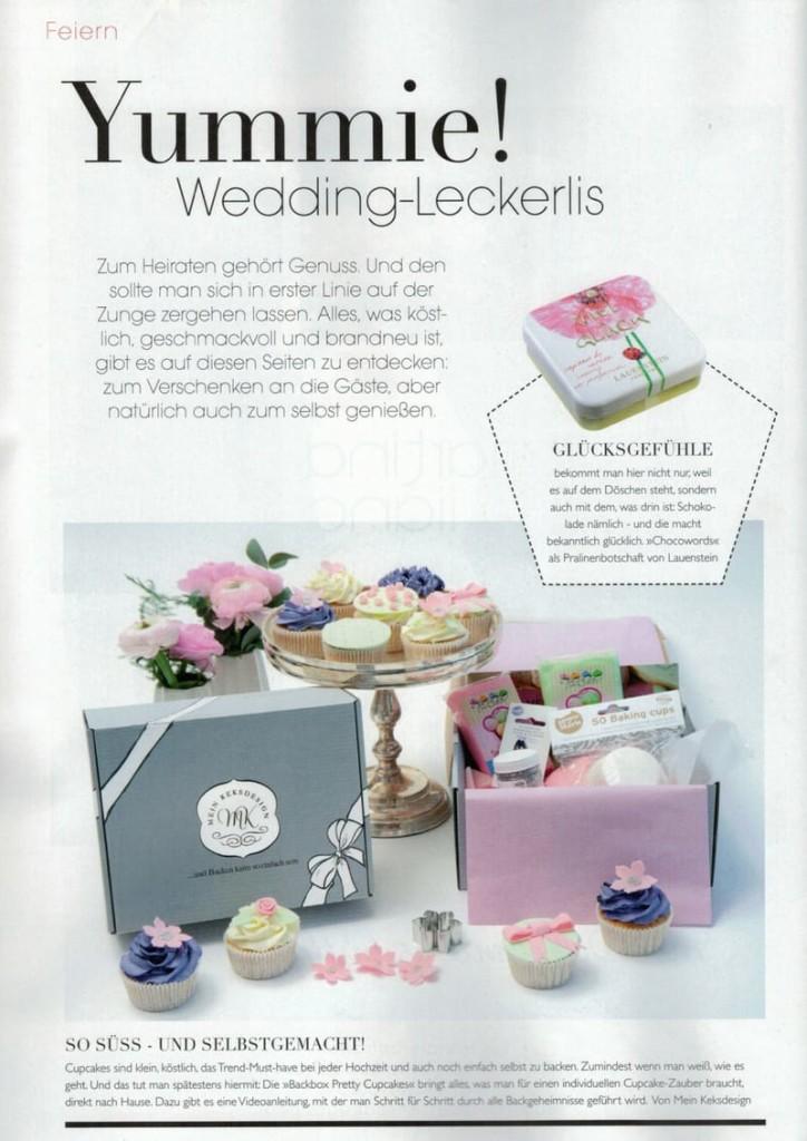Backbox Pretty Cupcakes von Mein Keksdesign im HOCHZEIT Magazin