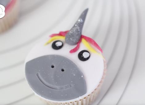 Mein Keksdesign Rezept YouTube Video Einhorn Cupcake Unicorn Cupcakes