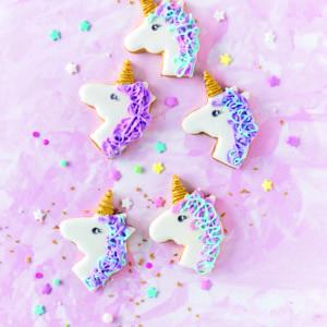 Einhorn-Kekse