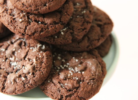 Dark Chocolate Chip Cookies Rezept Kekse Mein Keksdesign