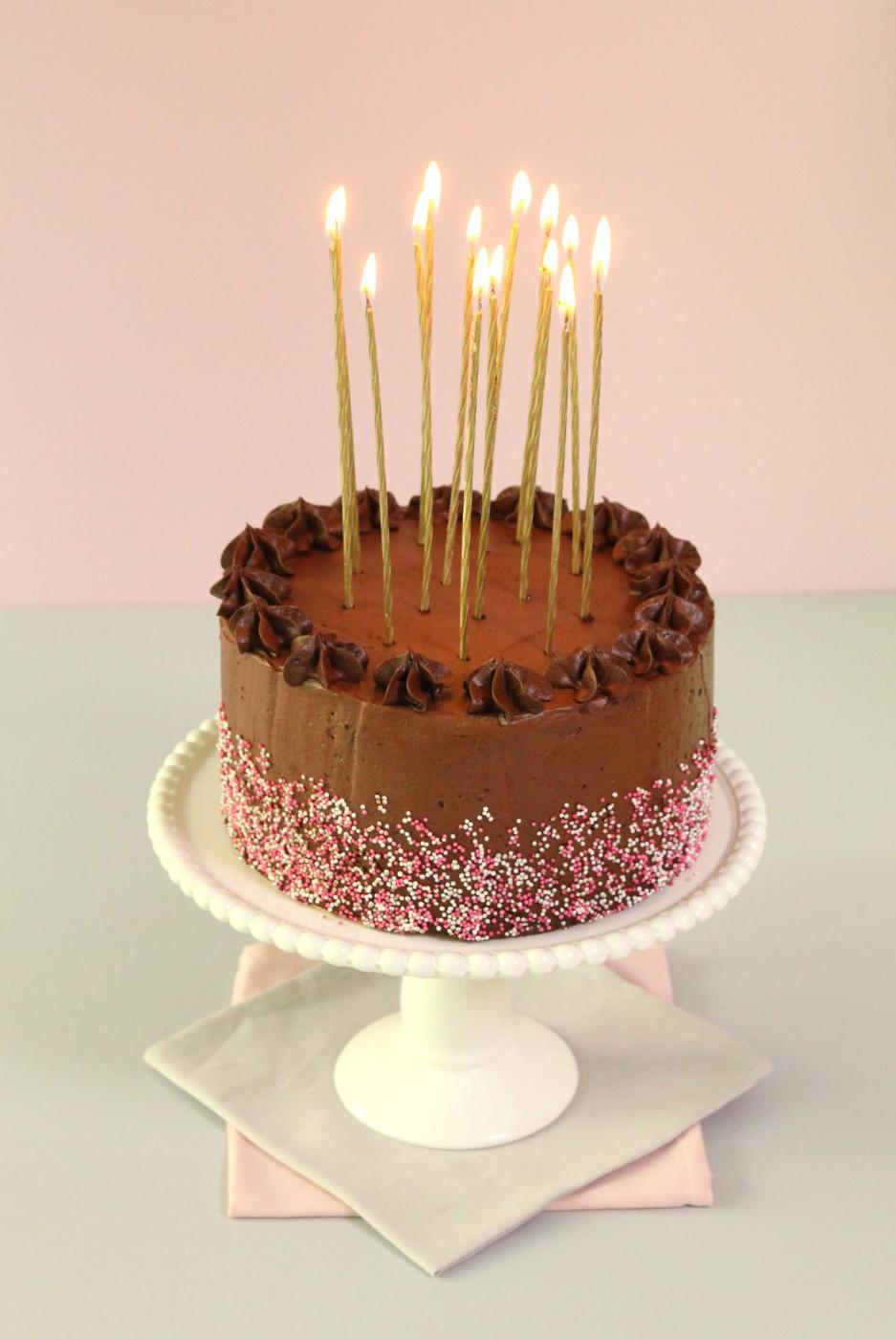Rezept für Schokotorte, der Kuchenklassiker Schokokuchen zum Geburtstag von Mein Keksdesign