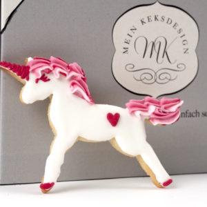 Einhorn Backbox von Mein Keksdesign