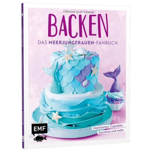 Das Backbuch kleine Meerjungfrauen