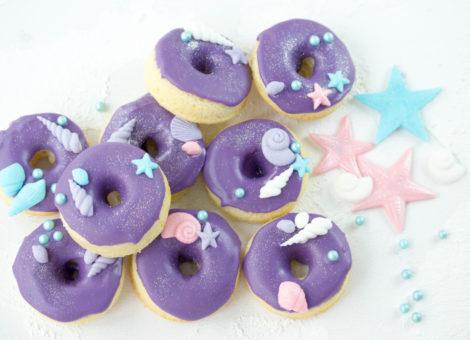 Donut im Meerjungfrauen Design