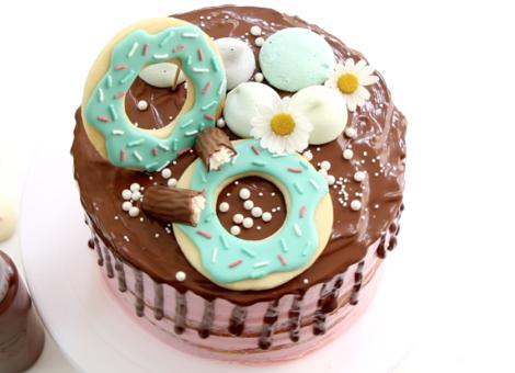 Kunterbunter Trendkuchen: Drip Cakes