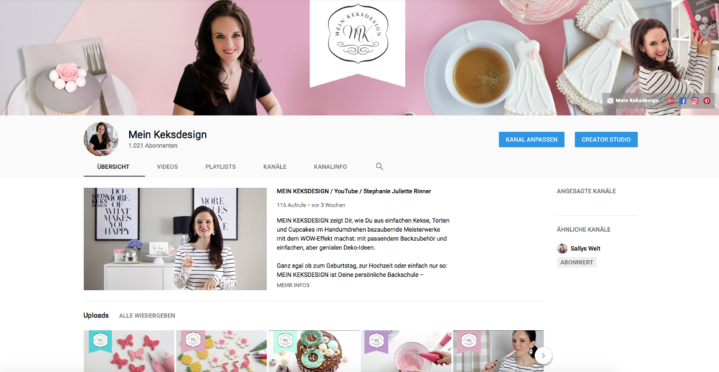 Neue Videos zu Royal Icing, Tortendeko und Cake Lettering
