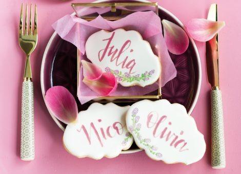 Der Handlettering Trend auf Kekse, Cupcakes und Torten: CAKE LETTERING
