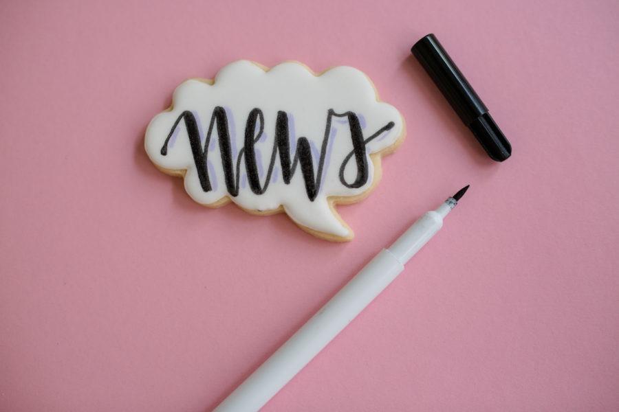 Backkurs von Mein Keksdesign zum Cake Lettering Trend am 27.10.2018 in München