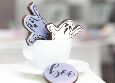 Neuer Blogbeitrag mit Rezept für Halloween Cookies