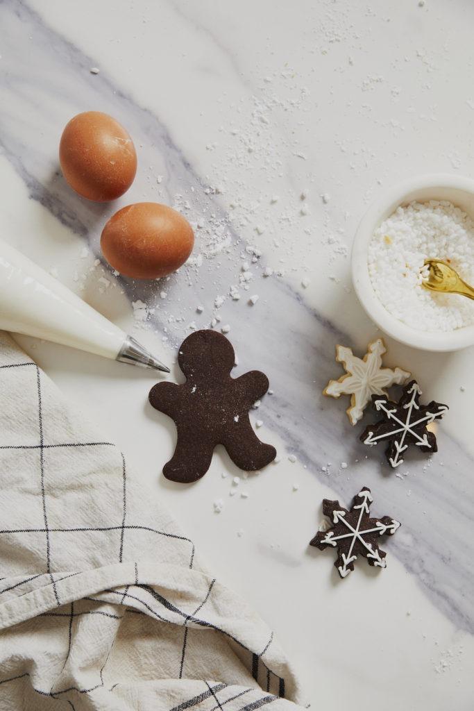 Weihnachtsdeko mit Plätzchenrezept für Westwing Now