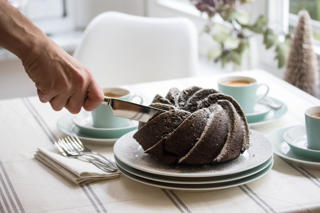 Rezept Schokoladen Gugelhupf zum Niederknien