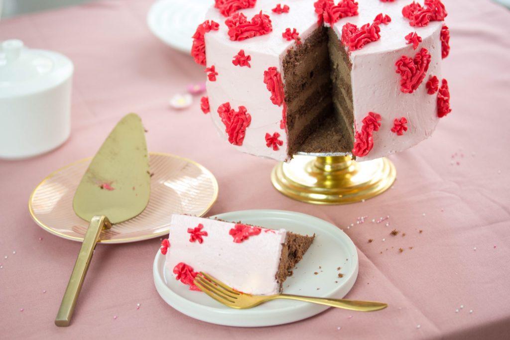 Rezept Fur Schokoladentorte Zum Valentinstag