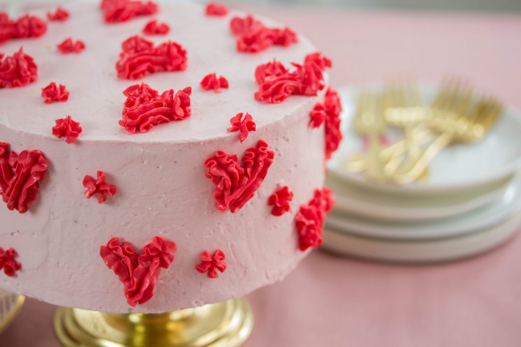 Rezept für Schokoladentorte zum Valentinstag
