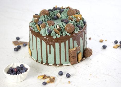 Einfache Schokokuchen Rezept für Geburtstagskuchen