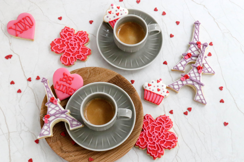 Rezept Mandelkekse Mit Royal Icing Zum Valentinstag