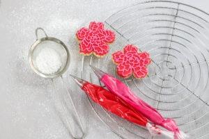 Keksrezept mit Royal Icing zum Valentinstag