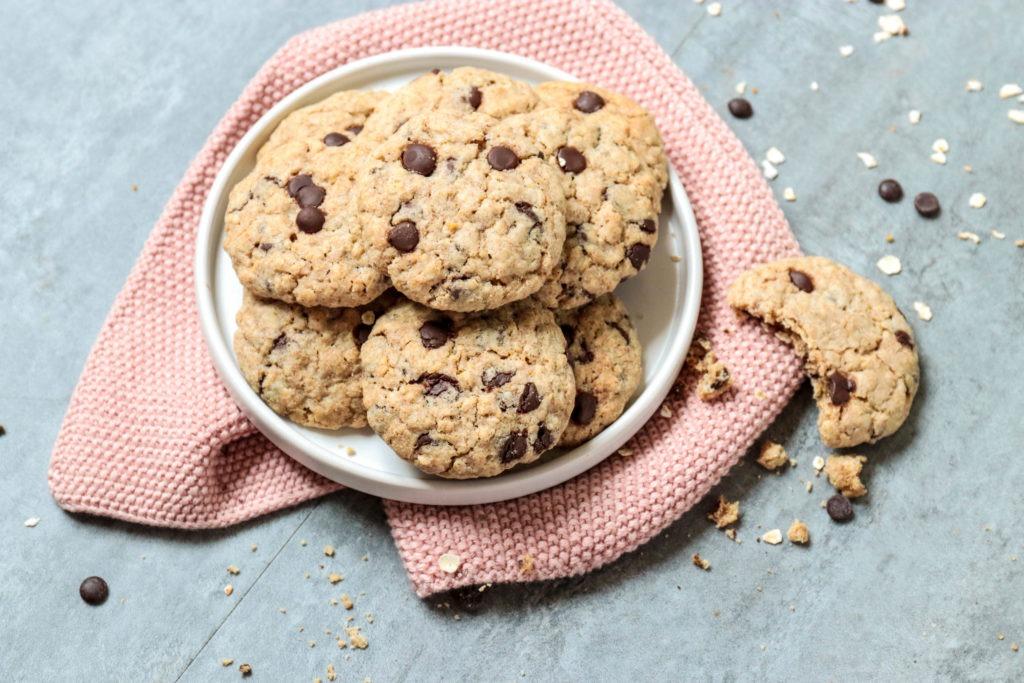 American Cookies mit dunkler Schokolade