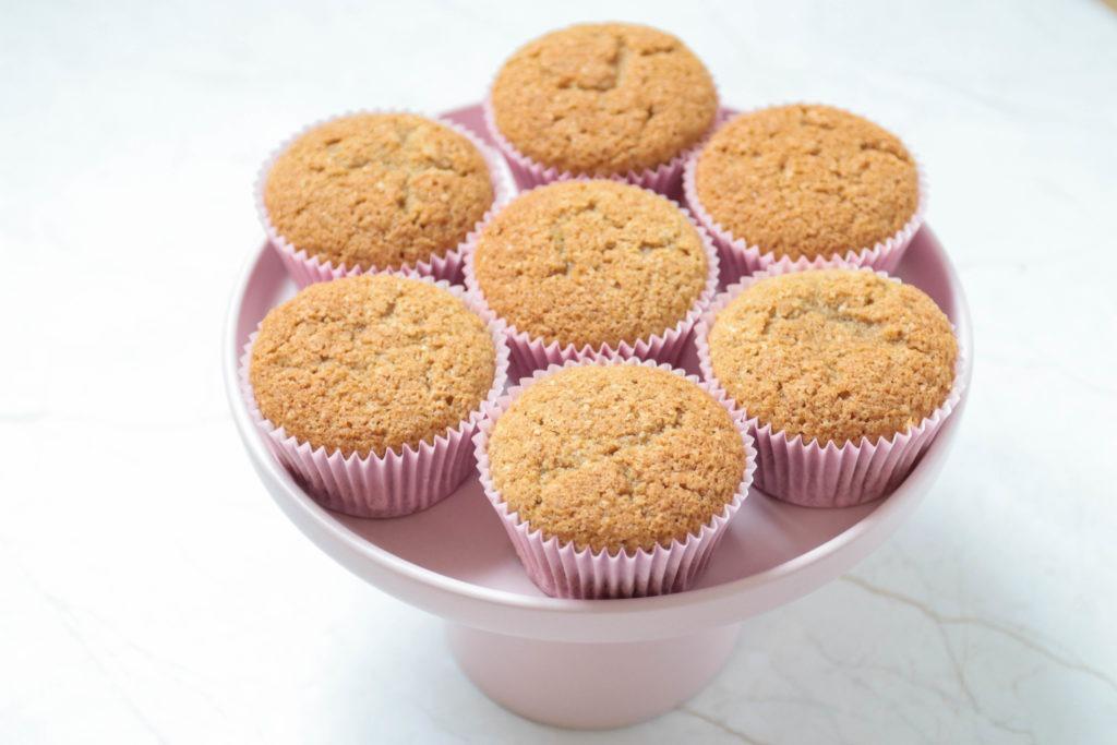 Rezept Muffins mit Dinkelmehl und Kokosblütenzucker