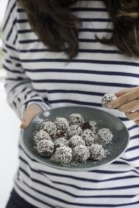Energy Balls Rezept vegan mit Peanut Butter