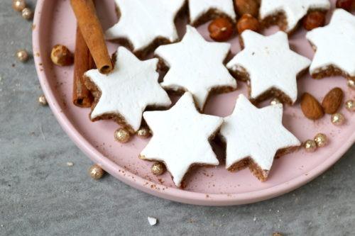 Rezept für Zimtsterne in der Weihnachtsbäckerei