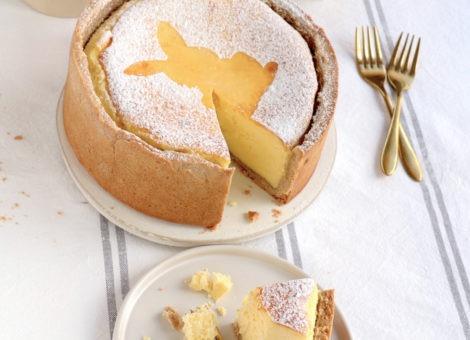 Cremig, fluffig und so lecker: Rezept für Käsekuchen mit Quark und Mürbeteig