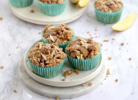 Rezept für himmlische Apfel-Streusel-Muffins