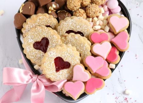 Rezepte zum Valentinstag mit Kekse backen