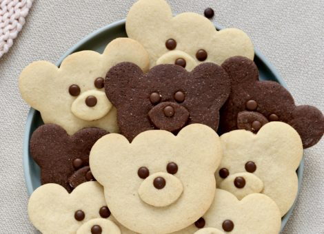 DIY niedliche Teddy Kekse als Kidsfood