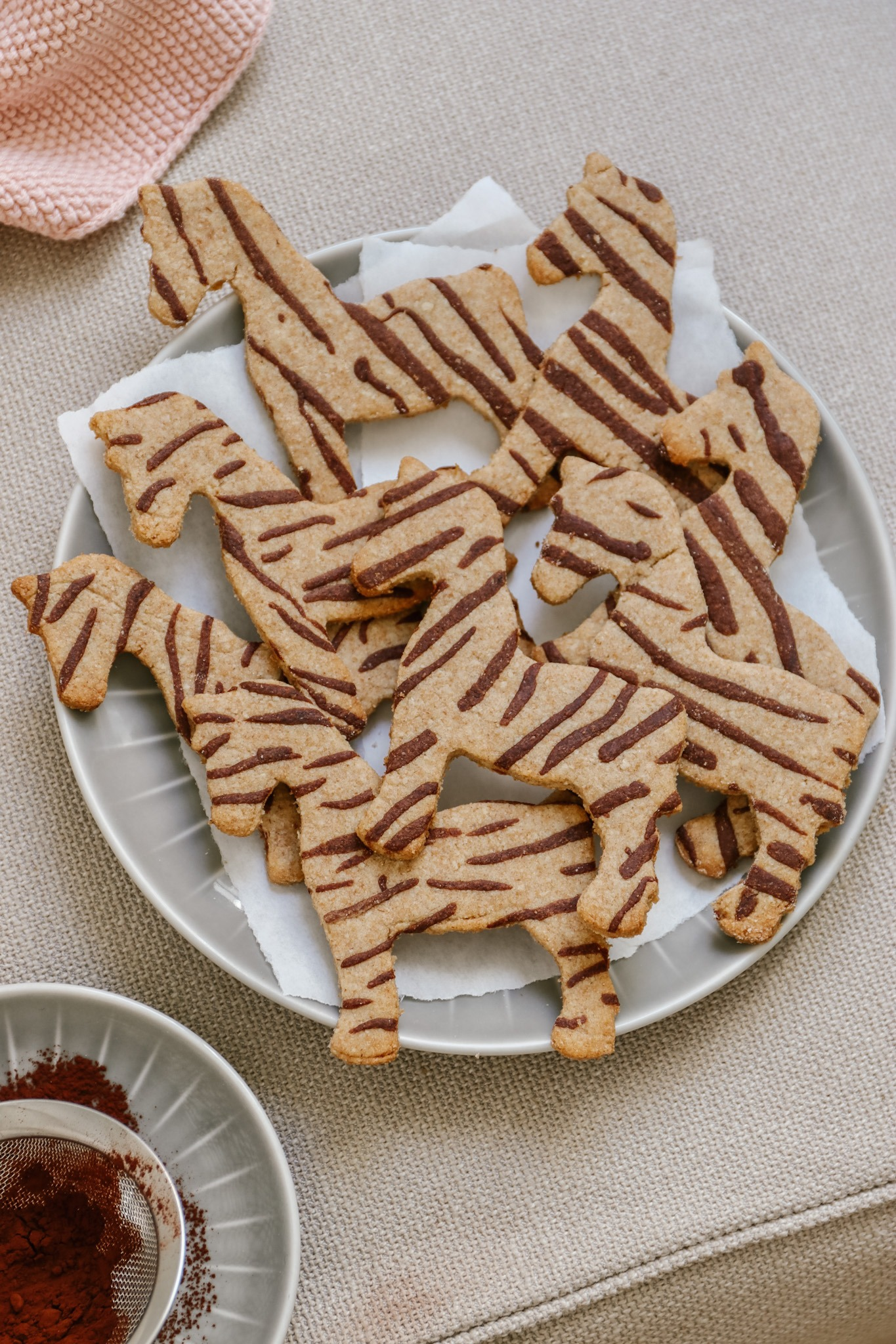 Kekse backen mit Kindern - lustige Tierkekse