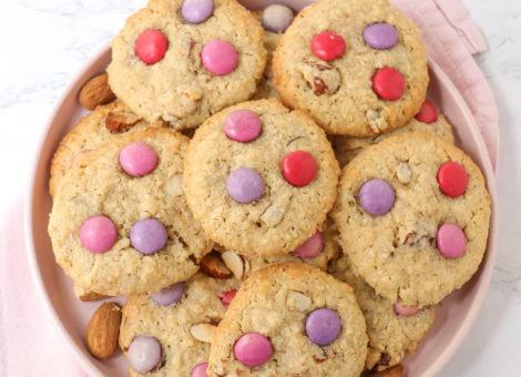 Cookies mit Haferflocken und Schokolade