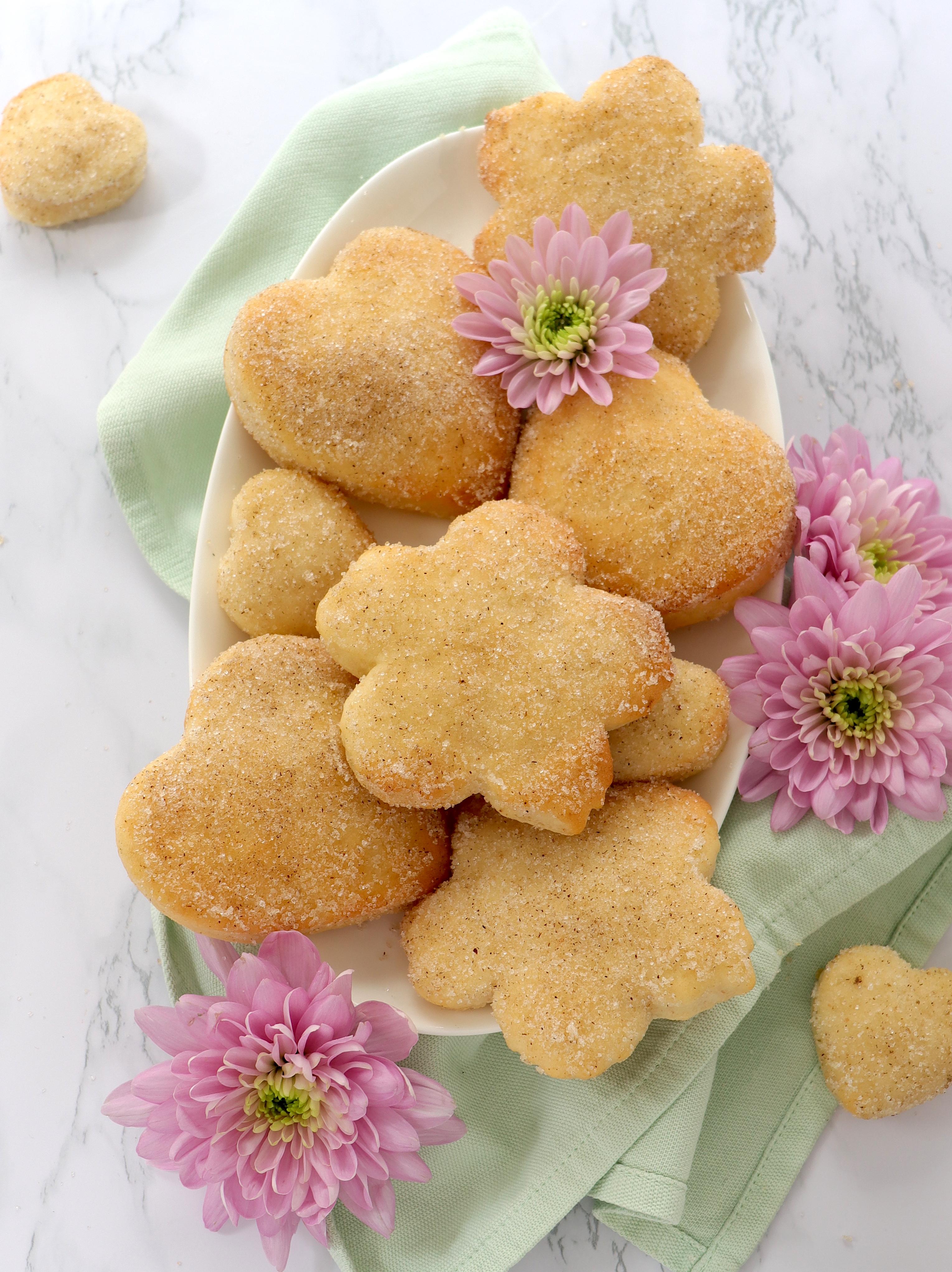 Quarkherzen als Rezept zum Muttertag
