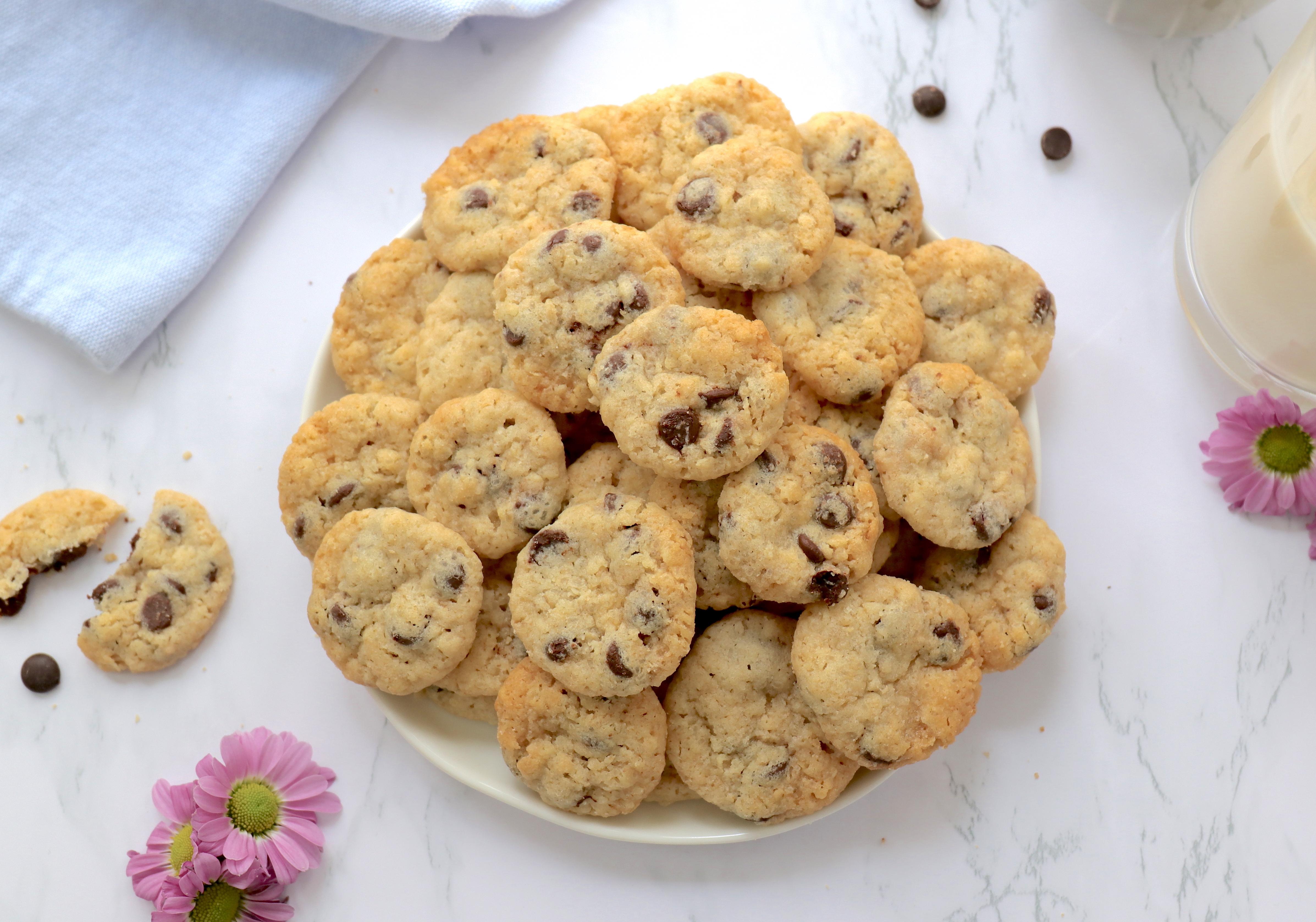 Rezept für Mini Chocolate Chip Cookies to go