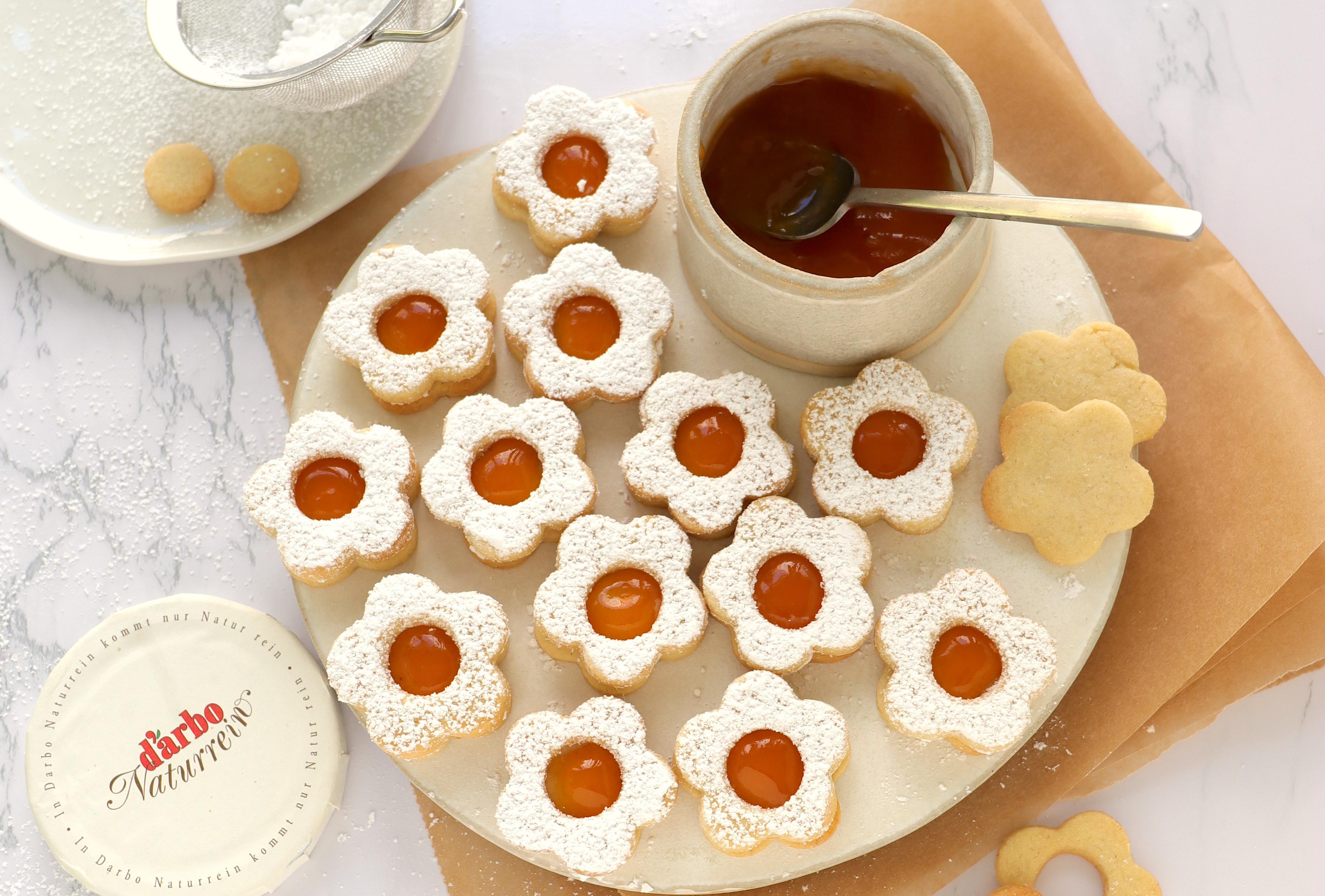 Rezept für Spitzbuben und Linzer Plätzchen backen