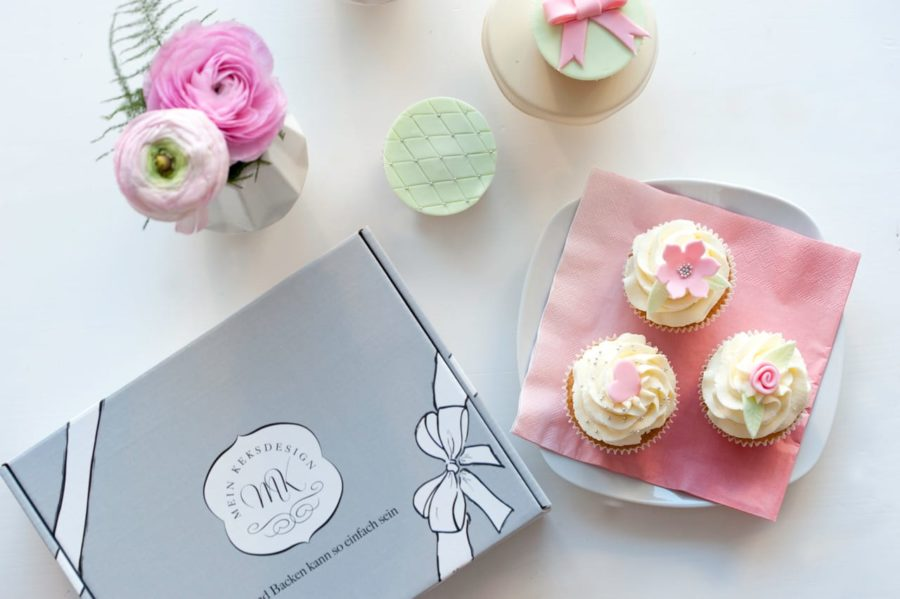 Mein Keksdesign - Backbox Pretty Cupcakes