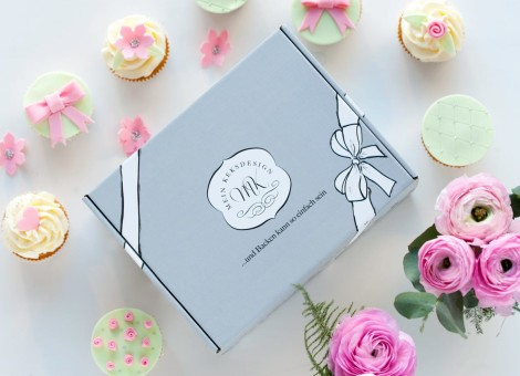 Mein Keksdesign - Backbox Pretty Cupcakes