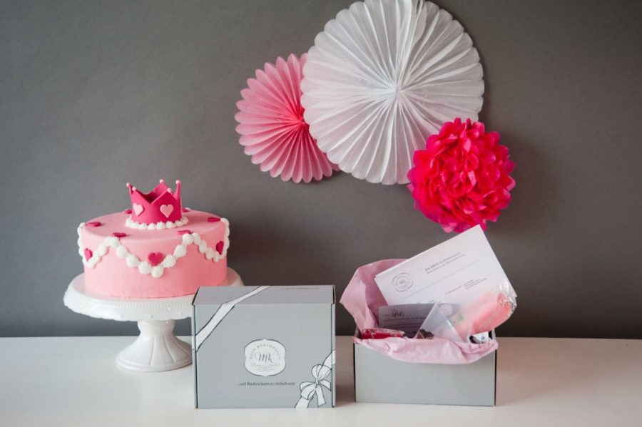 Mein Keksdesign - Backbox für Prinzessinnen