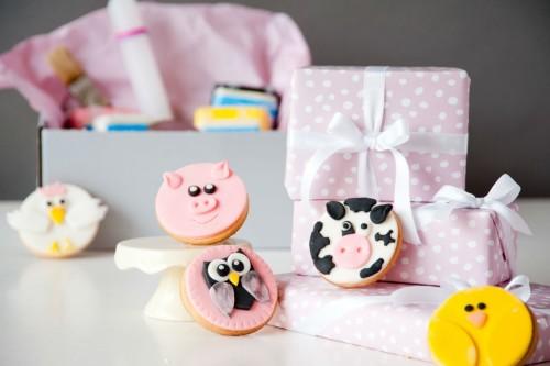 Mein Keksdesign - Backbox süßer Bauernhof