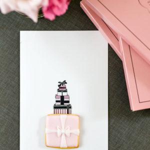 Mein Keksdesign Geschenk Weihnachtskarte Mucki Cookie Card
