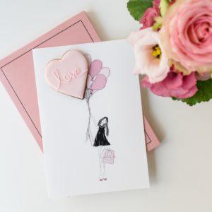 Mein Keksdesign Geschenk Liebe Mucki Cookie Card